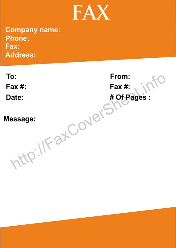 printable fax cover sheet templates